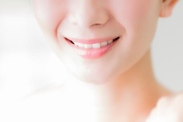 歯並びの良い笑顔
